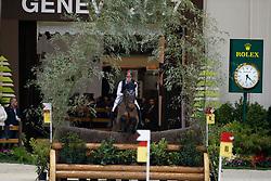 Godel Robin, SUI, Grandeur de Lully<br /> Indoor Cross Country<br /> CHI de Genève 2017<br /> © Dirk Caremans<br /> 09/12/2017