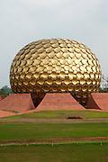 India, pondicherry, Auroville Matrimandir Meditation Centre