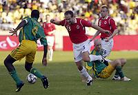 Fotball<br /> Privatlandskamp<br /> Sør Afrika v Norge 2-1<br /> Rustenburg<br /> 28.03.2009<br /> Foto: Vegard Fiskerstrand, Digitalsport<br /> <br /> Jon Inge Høiland - NOR