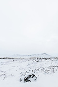 Hverfjall in january.