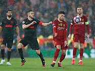 Alex Oxlade-Chamberlain of Liverpool controls the ball  during the UEFA Champions League match at Anfield, Liverpool. Picture date: 11th March 2020. Picture credit should read: Darren Staples/Sportimage