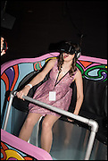 MARGUERITA SACHKOVA, ON OCULUS RIFT MACHINE, The World's First Fund Fair  in aid of Natalia Vodianova's charity the Naked Heart Foundation. The Roundhouse. London. 24 February 2015.