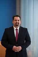 DEU, Deutschland, Germany, Berlin, 11.02.2016: Portrait Aiman Mazyek, Vorstandsvorsitzender des Zentralrates der Muslime (ZMD).