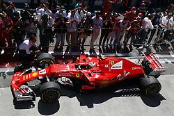 November 12, 2017 - Sao Paulo, Brazil - Motorsports: FIA Formula One World Championship 2017, Grand Prix of Brazil, ..#7 Kimi Raikkonen (FIN, Scuderia Ferrari) (Credit Image: © Hoch Zwei via ZUMA Wire)