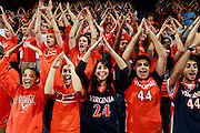CHARLOTTESVILLE, VA- DECEMBER 6: Virginia Cavaliers fans during the game on December 6, 2011against the George Mason Patriots at the John Paul Jones Arena in Charlottesville, Virginia. Virginia defeated George Mason 68-48. (Photo by Andrew Shurtleff/Getty Images) *** Local Caption ***
