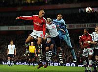 Fotball<br /> England<br /> Foto: Fotosports/Digitalsport<br /> NORWAY ONLY<br /> <br /> Mikael Silvestre Scores Goal<br /> Arsenal 2008/09<br /> Heurelho Gomes Tottenham Hotspur<br /> Arsenal V Tottenham Hotspur 29/10/08<br /> The Premier League