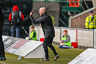 Brian Mclaughlin Scotland U17 Head Coach during the U17 European Championships match between Scotland and Russia at Simple Digital Arena, Paisley, Scotland on 23 March 2019.