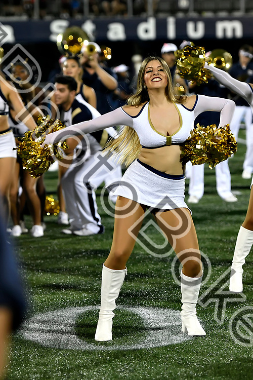 2017 October 14 - FIU Golden Dazzlers performing at Ricardo Silva Stadium, Miami, Florida. (Photo by: Alex J. Hernandez / photobokeh.com) This image is copyright by PhotoBokeh.com and may not be reproduced or retransmitted without express written consent of PhotoBokeh.com. ©2017 PhotoBokeh.com - All Rights Reserved
