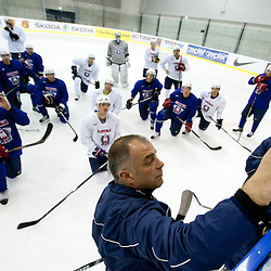 20110428: SVK, Ice Hockey - IIHF 2011 World Championship Slovakia, Practice session of Slovenia
