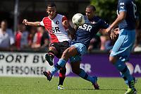 ROTTERDAM - SC Feyenoord - Feyenoord , Broederstrijd , voetbal , oefenwedstrijd , voorbereiding , Sportcomplex Varkenoord , 07-07-2012 , seizoen 2012-2013 , Speler van Feyenoord Harmeet Singh (l)