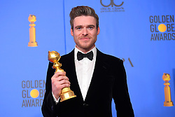 January 6, 2019 - Los Angeles, California, U.S. - Richard Madden in the Press Room during the 76th Annual Golden Globe Awards at The Beverly Hilton Hotel. (Credit Image: © Kevin Sullivan via ZUMA Wire)