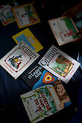 Belo Horizonte_MG, Brasil...Atividades de leitura na Creche Elizabeth Santos. Programa Prazer em Ler, Criancas ate 3 anos...The reading activities in the daycare Elizabeth Santos. The Prazer em Ler Program, Children up to 3 years...Foto: LEO DRUMOND / NITRO