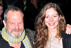 """© Licensed to London News Pictures. 16/10/2011. London,England. Terry Gilliam attends the  Premiere of """"Coriolanus"""" at the 55th British Film Festival in London  Photo credit : ALAN ROXBOROUGH/LNP"""