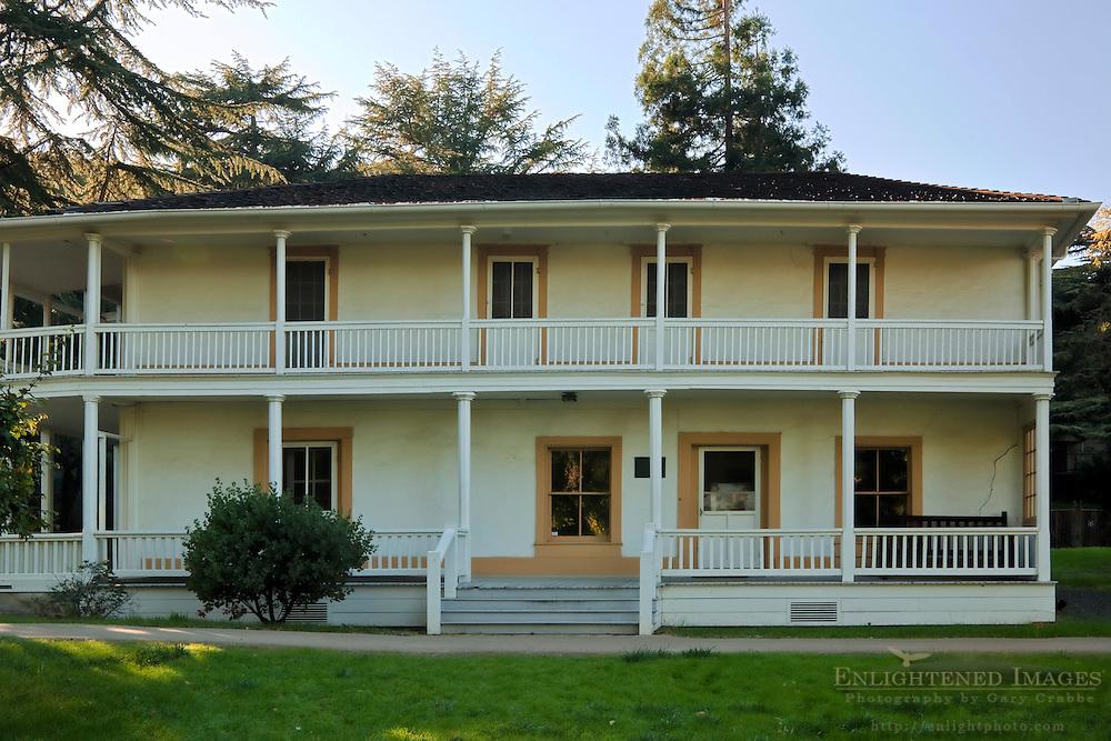Vincente Martinez Adobe, John Muir National Historic Site, Martinez, California