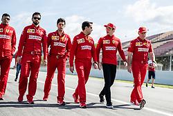 May 9, 2019 - Barcelona, BARCELONA, SPAIN - BARCELONA, SPAIN, 9 May 2019, Circuit de Barcelona Catalunya; Charles Leclerc  driver of Ferrari at Circuit de Barcelona Catalunya (Credit Image: © AFP7 via ZUMA Wire)