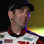 NASCAR Sprint Cup driver Greg Biffle is seen during the driver introductions prior to the NASCAR Sprint Unlimited Race at Daytona International Speedway on Saturday, February 16, 2013 in Daytona Beach, Florida.  (AP Photo/Alex Menendez)