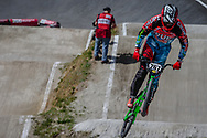 #267 (VAN KAMMEN Zachary) USA during round 4 of the 2017 UCI BMX  Supercross World Cup in Zolder, Belgium.