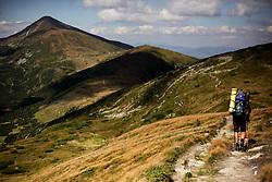 November 12, 2016 - Carpathians Mountains, Ukraine - Chornohora ridge in the Ukrainian Carpathians (Credit Image: © Nazar Gonchar via ZUMA Wire)