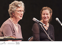 New Zealand children's author Lynley Dodd speaks about her work at Writers & Readers Week, as part of the New Zealand International Arts Festival.