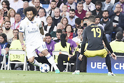 May 2, 2017 - Madrid, Spain - Marcelo (defender; Real Madrid) watched the Champions League, semifinal match between Real Madrid and Atletico de Madrid at Santiago Bernabeu Stadium on May 2, 2017 in Madrid, Spain (Credit Image: © Jack Abuin via ZUMA Wire)