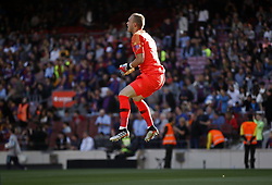 May 12, 2019 - Barcelona, Spain - Jasper Cillessen during the match between FC Barcelona angd Getafe, corresponding to the round 37 of the Liga Santander, played at the Camp Nou Stadium, on 12th May 2019, in Barcelona, Spain. (Credit Image: © Joan Valls/NurPhoto via ZUMA Press)