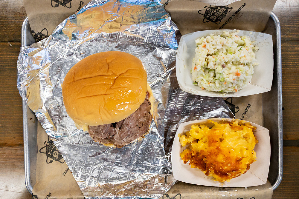 Delicious meal at Redneck BBQ Lab in Benson, North Carolina on Friday, August 20, 2021. Copyright 2021 Jason Barnette