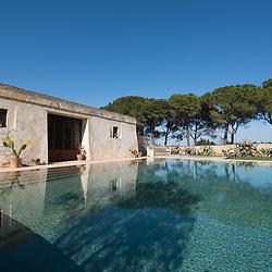 Masseria piscina