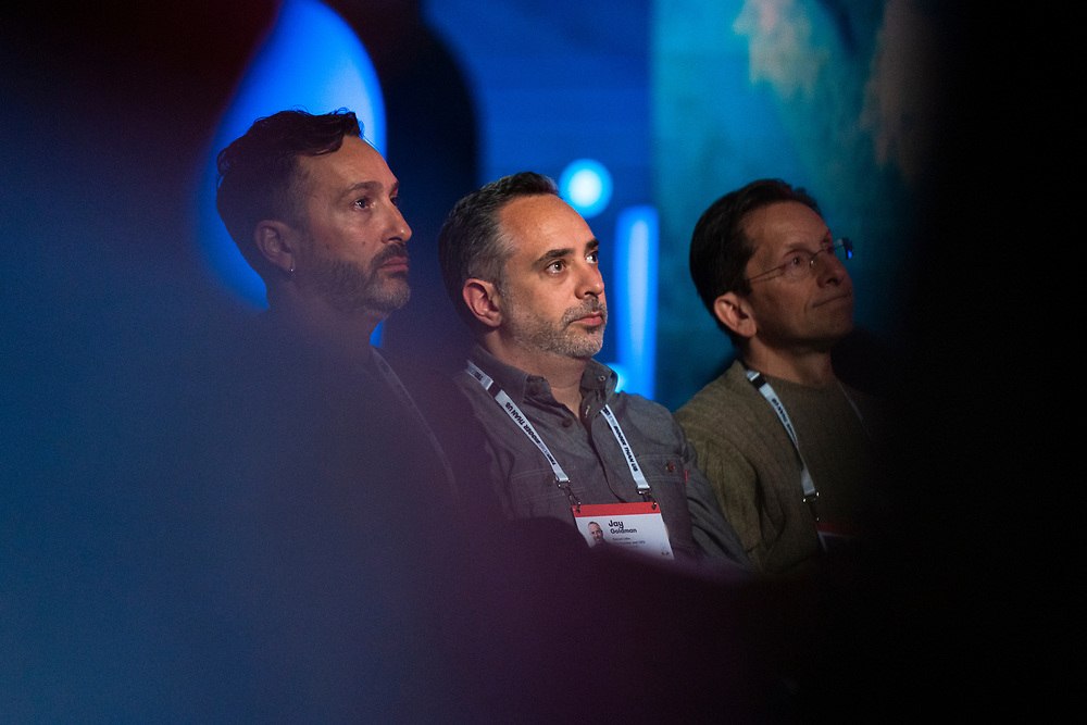 Audience members duringTED2019: Bigger Than Us. April 15 - 19, 2019, Vancouver, BC, Canada. Photo: Bret Hartman / TED