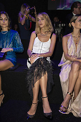 Candela Novembre attends the fashion show during Bvgalri Gala Dinner held at the Stadio dei Marmi in Rome, Italy on June 28, 2018. Photo by Marco Piovanotto/ABACAPRESS.COM
