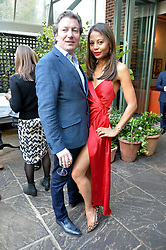 The MARQUESS & MARCHIONESS OF WEYMOUTH at a party to celebrate 'A Year In The Garden' celebrating the first year of The Ivy Chelsea Garden, 197 King's Road, London on 16th May 2016.