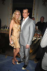 MATTHEW MELLON and NOEL RENO at a party to celebrate the launch of The Essential Party Guide held at the Mandarin Oriental Hyde Park, 66 Knightsbridge, London on 27th March 2007.<br /><br />NON EXCLUSIVE - WORLD RIGHTS