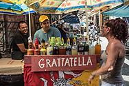In the Ballarò market