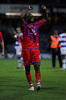 Photo: Tony Oudot/Sportsbeat Images.<br /> Queens Park Rangers v Crystal Palace. Coca Cola Championship. 04/12/2007.<br /> Clinton Morrison of Crystal Palace celebrates at the end of the match