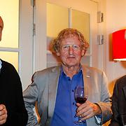 NLD/Amsterdam/20121004- Boekpresentatie Tommy Wieringa  - Dit Zijn de Namen, ???., Pieter Verhoef, ???..
