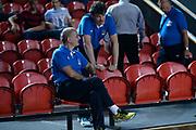 DESCRIZIONE : Tbilisi Nazionale Italia Uomini Tbilisi City Hall Cup Italia Italy Lettonia Latvia<br /> GIOCATORE : Raffaele Cortina Massimo Valle<br /> CATEGORIA : pregame<br /> SQUADRA : Italia Italy<br /> EVENTO : Tbilisi City Hall Cup<br /> GARA : Italia Lettonia Italy Latvia<br /> DATA : 14/08/2015<br /> SPORT : Pallacanestro<br /> AUTORE : Agenzia Ciamillo-Castoria/Max.Ceretti<br /> Galleria : FIP Nazionali 2015<br /> Fotonotizia : Tbilisi Nazionale Italia Uomini Tbilisi City Hall Cup Italia Italy Lettonia Latvia