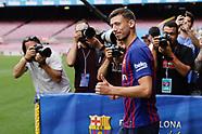 FOOTBALL - PRESENTATION CLEMENT LENGLET IN FC BARCELONA 130718