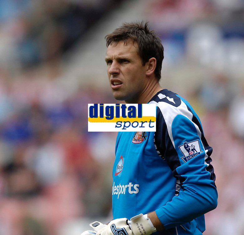 Photo: Jed Wee/Sportsbeat Images.<br /> Sunderland v Juventus. Pre Season Friendly. 04/08/2007.<br /> <br /> Sunderland goalkeeper Darren Ward catches the eye with a series of saves.