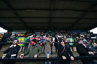 Football - 2020 / 2021 FA Trophy - Round Two - Marine vs Hyde United - Rossett Park<br /> <br /> <br /> Fans at the start of todays game<br /> <br /> <br /> COLORSPORT/TERRY DONNELLY