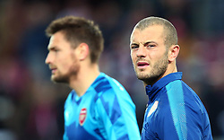 Jack Wilshere of Arsenal looks on - Mandatory by-line: Robbie Stephenson/JMP - 23/11/2017 - FOOTBALL - RheinEnergieSTADION - Cologne,  - Cologne v Arsenal - UEFA Europa League Group H