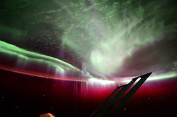 July 13, 2015 - Earth Atmosphere - Astronaut Scott Kelly posted this picture taken from the International Space Station on July 13, 2015 with the caption, GoodMorning Aurora! Good to see you again. YearInSpace. (Credit Image: ? Scott Kelly/NASA via ZUMA Wire/ZUMAPRESS.com)