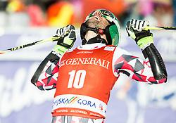 Philipp Schoerghofer (AUT) reacts during 9th Men's Giant Slalom race of FIS Alpine Ski World Cup 55th Vitranc Cup 2016, on March 4, 2016 in Kranjska Gora, Slovenia. Photo by Vid Ponikvar / Sportida