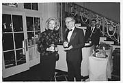 RUPERT MURDOCH, ANNA MURDOCH, Humanitarian Awards dinner, Waldorf. June 1990