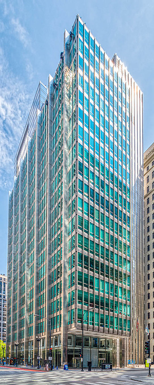Chicago architecture. June 2020. During the Covid-19 outbreat. Summer   Digital photography.