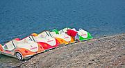 2012-09-16. Przystań rowerów wodnych, Polańczyk