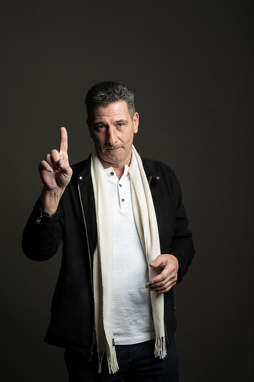 Gene Steratore, a long-time NFL referee who worked last year's Super Bowl, poses for a portrait in Atlanta on Wednesday, January 30, 2019. He retired and is now CBS's rules analyst. Photo by Kevin D. Liles for The New York Times
