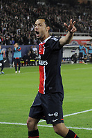 FOOTBALL - FRENCH CHAMPIONSHIP 2011/2012 - L1 - PARIS SAINT GERMAIN v STADE RENNAIS - 13/05/2012 - PHOTO JEAN MARIE HERVIO / REGAMEDIA / DPPI - JOY NENE (PSG) AFTER HIS 3RD GOAL