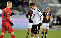 Fotball, 4. november  2019 , Eliteserien ,  Odd - Mjøndalen <br /> Torgeir Børven , Odd<br /> Torgeir Borven<br /> Julian Faye Lund