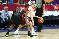 September 2, 2017 - °Stanbul, Türkiye - Latvia - Belgium Eurobasket 2017 game at Fenerbahce Arena, Istanbul, Turkey, September 2nd, 2017 (Credit Image: © Depo Photos via ZUMA Wire)