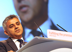 © Licensed to London News Pictures. 28/09/2011. LONDON, UK. Sadiq Khan MP, Shadow Justice Secretary, at The Labour Party Conference in Liverpool today (28/09/11). Photo credit:  Stephen Simpson/LNP