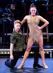 Neil Jones and Katya Jones attending the Strictly Come Dancing Professionals UK Tour at Elstree Studios, London.